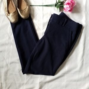 LOFT Marisa Skinny Dress Pants || Size 6 || Blue